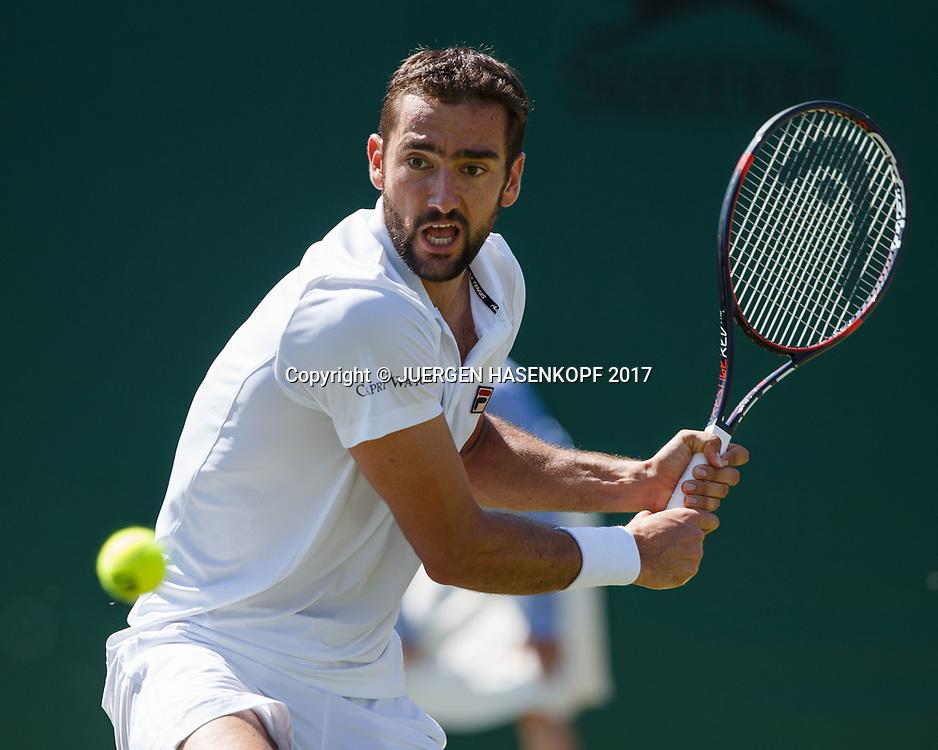 MARIN CILIC (CRO)<br /> <br /> Tennis - Wimbledon 2016 - Grand Slam ITF / ATP / WTA -  AELTC - London -  - Great Britain  - 5 July 2017.