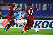 Joaquin Correa of Lazio scores 0-1 goal during the UEFA Europa League, Group E football match between SS Lazio and CFR Cluj on November 28, 2019 at Stadio Olimpico in Rome, Italy - Photo Federico Proietti / ProSportsImages / DPPI