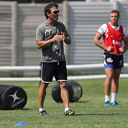 Paul Anthony during The Cell C Sharks High CNS Rugby / Skills / Field Conditioning KP2, session at Growthpoint Kings Park in Durban, South Africa. December 9th December 2016 (Photo by Steve Haag)<br /> <br /> images for social media must have consent from Steve Haag