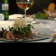 Fillet with figs.Isla Mujeres, Mexico.