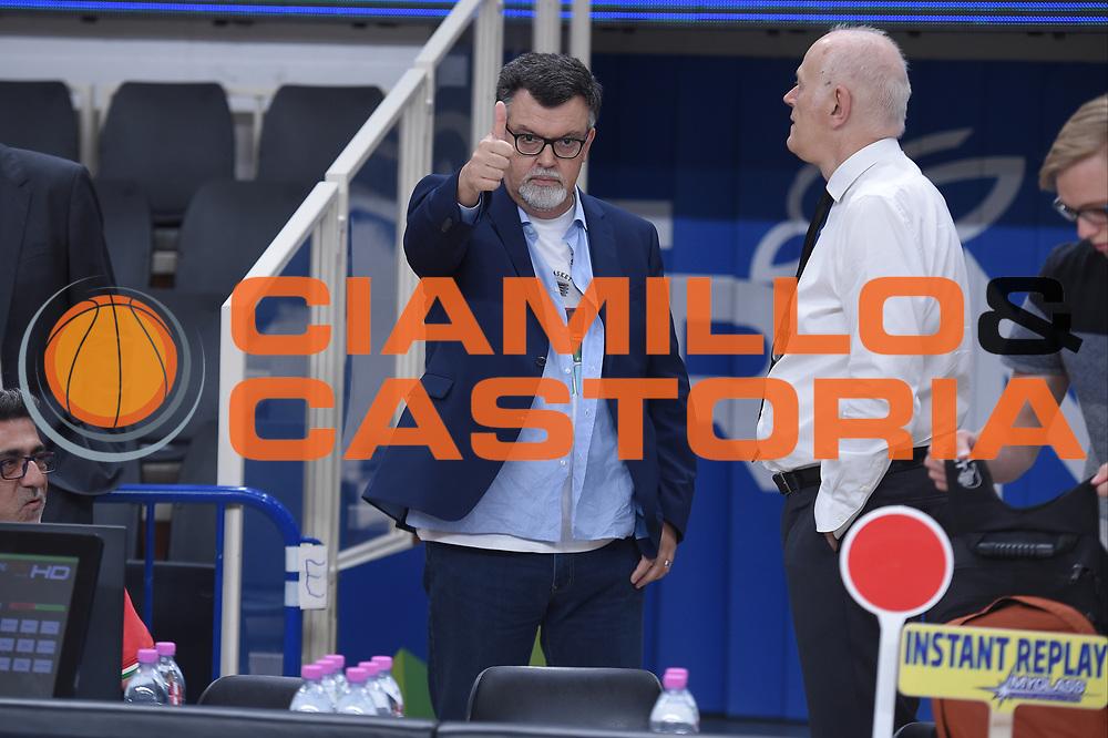 Luigi Longhi<br /> Dolomiti Energia Trento - EA7 Emporio Armani Playoff Finale gara 6<br /> Legabasket serieA 2017-2018<br /> Trento 15/06/2018<br /> Foto GiulioCiamillo/Ciamillo-Castoria