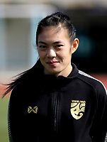 International Women's Friendly Matchs 2019 / <br /> Womens's Cyprus Cup Tournament 2019 - <br /> Nigeria v Thailand 3-0 ( Tasos Marko Stadium - Paralimni,Cyprus ) - <br /> Silawan Intamee of Thailand