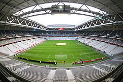LILLE, FRANCE - Thursday, October 23, 2014: A general view of Lille OSC's Stade Pierre-Mauroy before the UEFA Europa League Group H match against Everton. (Pic by David Rawcliffe/Propaganda)