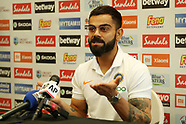 Cricket - India Press conference at Fort Lauderdale 02.08.19