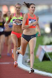 31-07-2015 NED: Asics NK Atletiek, Amsterdam<br /> Nk outdoor atletiek in het Olympische stadion Amsterdam /  Maureen Koster wint de 1500 meter