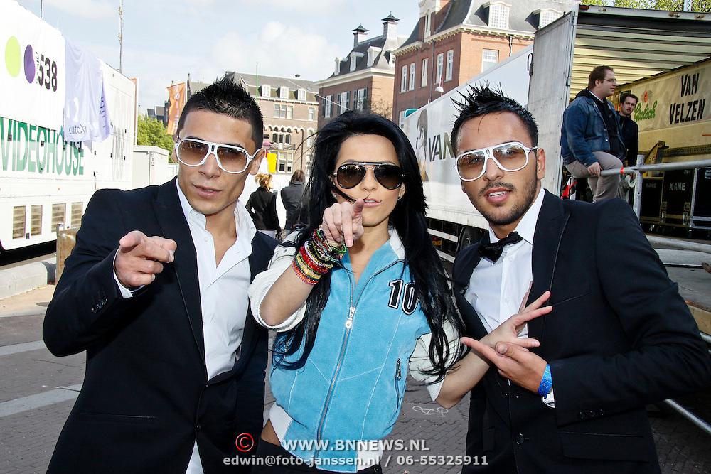 NLD/Amsterdam/20100430 - Radio 538 Koniginnedag Concert 2010, Inna, Elena Alexandra Apostoleanu