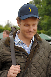 VISCOUNT ROTHERMERE at a charity shoot in aid of the charity Save The Rhino held at the West London Shooting School, Northolt, Middlesex on 30th May 2008.<br />