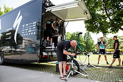 Team Bora Hansgrohe one day prior to the 25th Tour de Slovenie 2018 cycling race, on June 12, 2018 in Hotel Livada, Moravske Toplice, Slovenia. Photo by Vid Ponikvar / Sportida