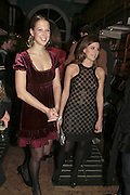 Lady Ella Windsor and Francesca Versace , Book launch of Pretty Things by Liz Goldwyn at Daunt <br />Books, Marylebone High Street. London 30 November 2006.   ONE TIME USE ONLY - DO NOT ARCHIVE  © Copyright Photograph by Dafydd Jones 248 CLAPHAM PARK RD. LONDON SW90PZ.  Tel 020 7733 0108 www.dafjones.com