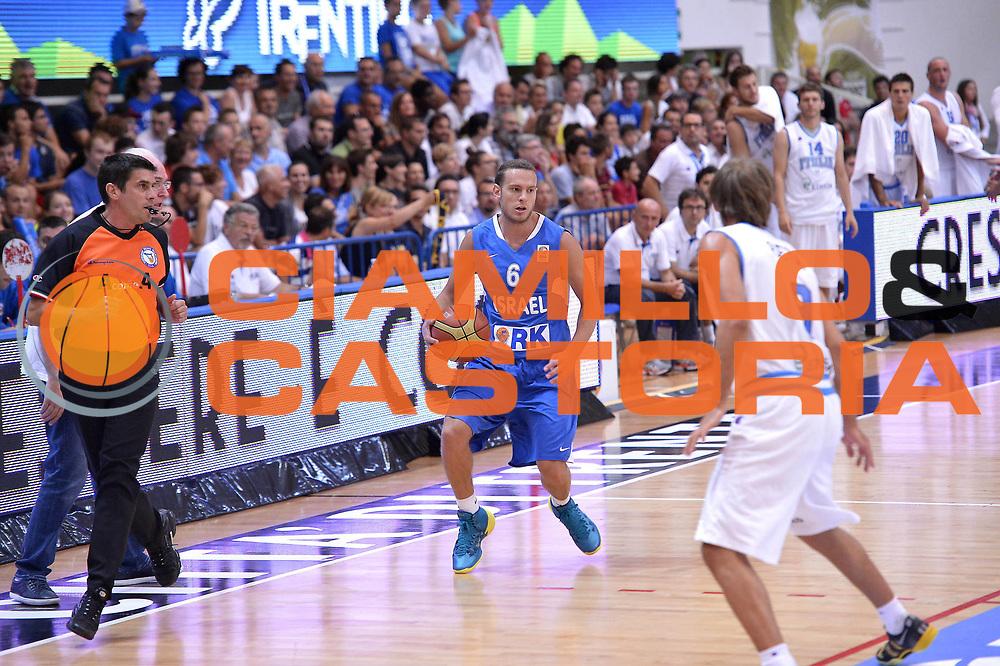 DESCRIZIONE : Trento Basket Cup 2013 Italia Israele<br /> GIOCATORE : Yuval Naimy<br /> CATEGORIA : Palleggio<br /> SQUADRA : Nazionale Israele Uomini Maschile<br /> EVENTO : Trento Basket Cup 2013 Italia Israele<br /> GARA : Italia Israele<br /> DATA : 08/08/2013<br /> SPORT : Pallacanestro<br /> AUTORE : Agenzia Ciamillo-Castoria/GiulioCiamillo<br /> Galleria : FIP Nazionali 2013<br /> Fotonotizia : Trento Basket Cup 2013 Italia Israele<br /> Predefinita :