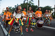An aboriginal school drumming group at the Dream Parade. The Dream Parade is an annual arts carnival and street parade that takes place in Taipei. The event is the brainchild of real estate developer Gordon Tsai who founded the Dream Community after being inspired by simialr events in other parts of the world.