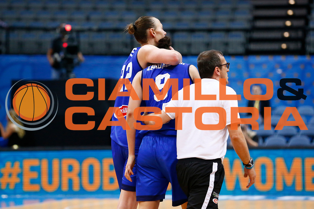 Cecilia Zandalasini<br /> Italia - Lettonia<br /> Nazionale Femminile Senior - EUROBASKET 2017<br /> O2 Arena, Praga, 24/06/2017<br /> Foto Ciamillo-Castoria / M.Brondi