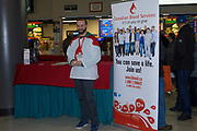 KELOWNA, CANADA - FEBRUARY 07:  Canadian Blood Services at the Kelowna Rockets game on February 07, 2018 at Prospera Place in Kelowna, British Columbia, Canada.  (Photo By Cindy Rogers/Nyasa Photography,  *** Local Caption ***