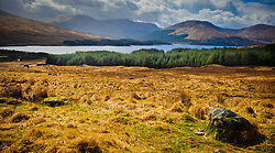Looking towards Loch Tulla in Argyll &amp; Bute, Scotland.  Situated near Bridge of Orchy and Glencoe.<br /> <br /> (c) Andrew Wilson | Edinburgh Elite media