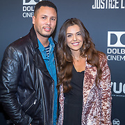 NLD/Hilversum/20171115 - Justice League premiere, Laura Ponticorvo en Ryan Rijger
