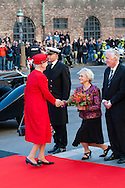 04.10.2016. Copenhagen, Denmark.  <br /> Queen Margrethe's arrival to Christiansborg Palace for attended the opening session of the Danish Parliament (Folketinget).<br /> Photo: &copy; Ricardo Ramirez