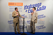 Hannover Messe 2005, the biggest annual industrial fair in the World..Hydrogen & Fuel Cell presentation.