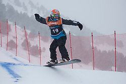 Chris Vos, Snowboarder Cross, 2015 IPC Snowboarding World Championships, La Molina, Spain