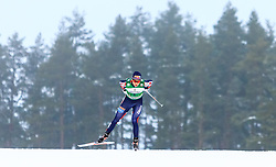 19.02.2016, Salpausselkae Stadion, Lahti, FIN, FIS Weltcup Nordische Kombination, Lahti, Langlauf, im Bild Jarl Magnus Riiber (NOR) // Jarl Magnus Riiber of Norway competes during Cross Country Gundersen Race of FIS Nordic Combined World Cup, Lahti Ski Games at the Salpausselkae Stadium in Lahti, Finland on 2016/02/19. EXPA Pictures © 2016, PhotoCredit: EXPA/ JFK