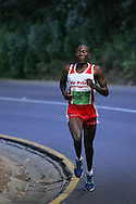 Mpesela Ntloseu during the 2010 Old Mutual 2 Oceans Ultra Marathon held in Cape Town, Western Cape, South Africa on the 3 April 2010.Photo by: Ron Gaunt/ SPORTZPICS