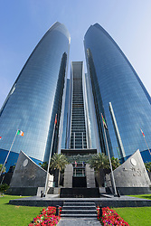 Etihad Towers in Abu Dhabi United Arab Emirates