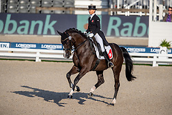 Lenherr Charlotte, SUI, Darko of de Niro ZS CH<br /> European Championship Dressage<br /> Rotterdam 2019<br /> © Hippo Foto - Stefan Lafrentz