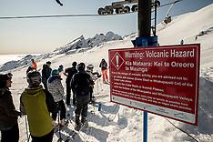 Ruapehu-Skiers warned about volcanic hazard
