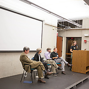 """If Not Now, When?"" a conference put on by Open Hillel takes place at Harvard University on October 11, 2014 in Cambridge, Massachusetts. (Photo by Elan Kawesch/The Times of Israel)"