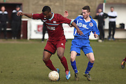 AFC Croydon Athletic's Louis Blake   during the Southern Counties East match between AFC Croydon Athletic and Greenwich Borough at the Mayfield Stadium, Croydon, United Kingdom on 12 March 2016. Photo by Martin Cole.