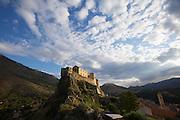 Corte's Citadel at sunrise.