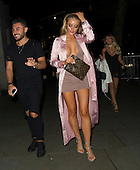Ex on the Beach star Megan Clark out in London
