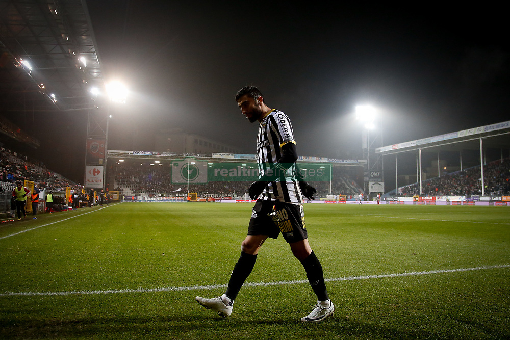 December 1, 2017 - Charleroi, BELGIUM - Charleroi's Kaveh Rezaei pictured during the Jupiler Pro League match between Sporting Charleroi and KV Oostende, in Charleroi, Friday 01 December 2017, on the day 17 of the Jupiler Pro League, the Belgian soccer championship season 2017-2018. BELGA PHOTO BRUNO FAHY (Credit Image: © Bruno Fahy/Belga via ZUMA Press)