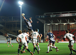 James Phillips blindside flanker for Bristol Rugby - Mandatory by-line: Paul Knight/JMP - Mobile: 07966 386802 - 12/02/2016 -  RUGBY - Ashton Gate Stadium - Bristol, England -  Bristol Rugby v Ealing Trailfinders - Greene King IPA Championship