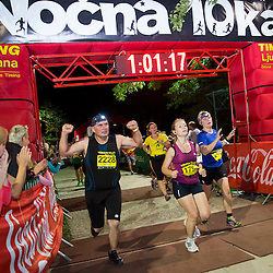 20150711: SLO, Athletics - Nocna 10ka 2015, running around Bled's lake