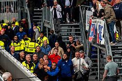 27-09-2018 NED: FC Utrecht - MVV Maastricht, Utrecht<br /> First round Dutch Cup stadium Nieuw Galgenwaard / <br /> Sercurity and ME police must act against supporters of MVV