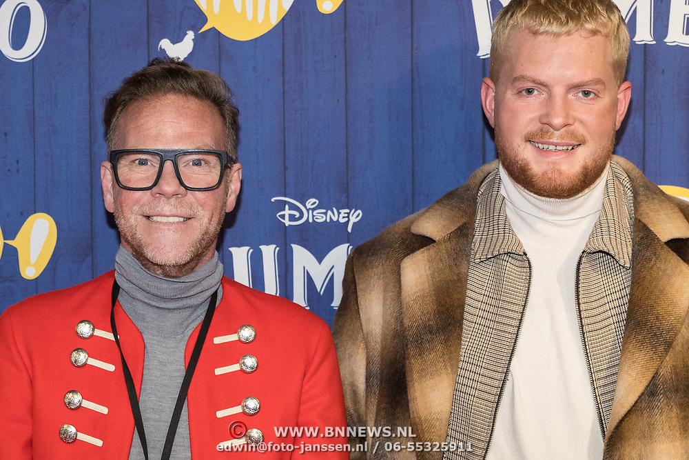 NLD/Amsterdams/20190326 - Filmpremiere Dumbo, Bastiaan van Schaik en ..........