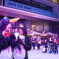 06.12.2014 (C) Blake Ezra Photography 2014. <br /> Images from Ice Rink Launch at JW3. www.blakeezraphotography.com<br /> Not for third party or commercial use.
