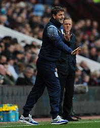Aston Villa Manager, Tim Sherwood - Photo mandatory by-line: Harry Trump/JMP - Mobile: 07966 386802 - 21/03/15 - SPORT - FOOTBALL - Barclays Premier League - Aston Villa v Swansea City - Villa Park, Birmingham, England.