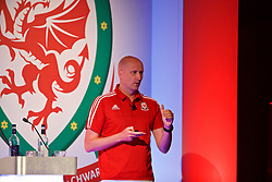 NEWPORT, WALES - Sunday, May 28, 2017: Swansea City's Cameron Toshack during day three of the Football Association of Wales' National Coaches Conference 2017 at the Celtic Manor Resort. (Pic by David Rawcliffe/Propaganda)