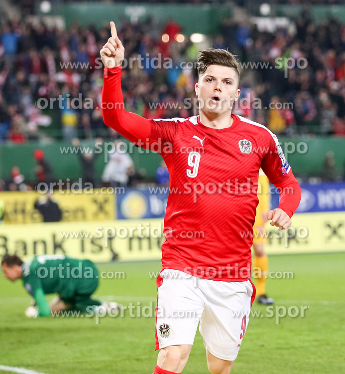 24.03.2017, Ernst Happel Stadion, Wien, AUT, FIFA WM 2018 Qualifikation, Oesterreich vs Moldawien, Gruppe D, im Bild Marcel Sabitzer (AUT) // during the FIFA World Cup 2018, group D qualifying match between Austria and Moldova at the Ernst Happel Stadion in Wien, Austria on 2017/03/24. EXPA Pictures © 2017, PhotoCredit: EXPA/ Alexander Forst