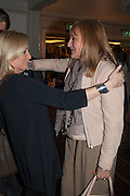 CHRISSIE RUCKER; LIZ DOOGAN-HOBBS; Natwest Everywoman awards reception. The Dorchester Hotel. London. 5 December 2012.