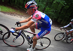 Simon Spilak of Slovenia (Lampre) during 3rd stage of the 15th Tour de Slovenie from Skofja Loka to Krvavec (129,5 km), on June 13,2008, Slovenia. (Photo by Vid Ponikvar / Sportal Images)/ Sportida)