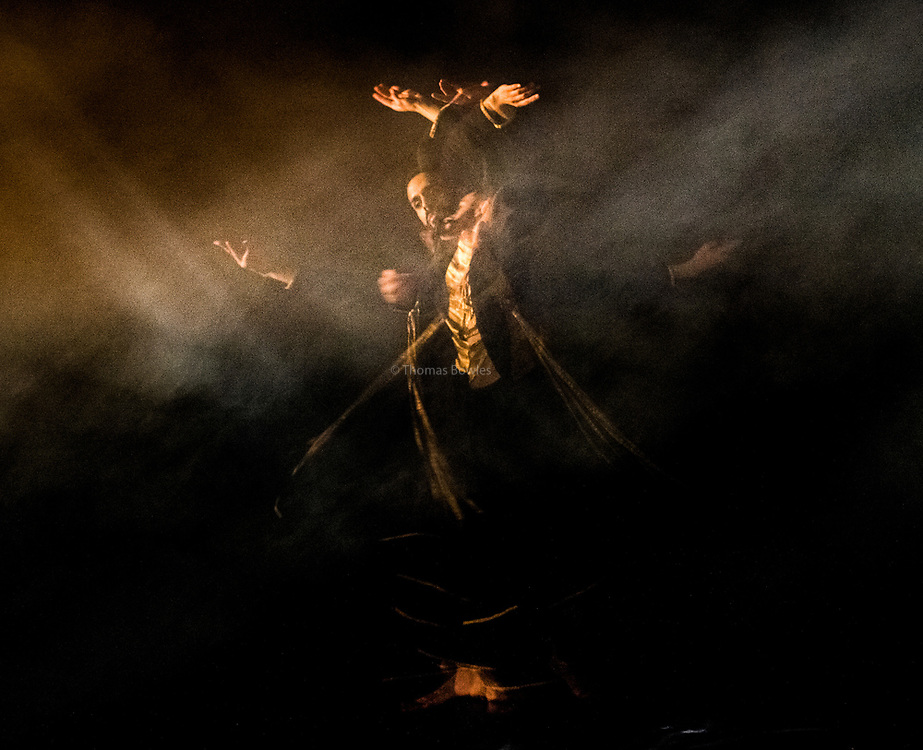 9th March 2017, London UK. Aakash Odedra performs Echoes, at Sadler's Wells.