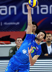 Mitja Gasparini #6 during volleyball match between National teams of Poland and Slovenia in Quarterfinals of 2015 CEV Volleyball European Championship - Men, on October 14, 2015 in Arena Armeec, Sofia, Bulgaria. Photo by Ronald Hoogendoorn / Sportida