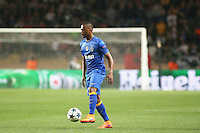 Patrice EVRA  - 22.04.2015 - Monaco / Juventus Turin - 1/4Finale retour Champions League<br />Photo : Serge Haouzi / Icon Sport