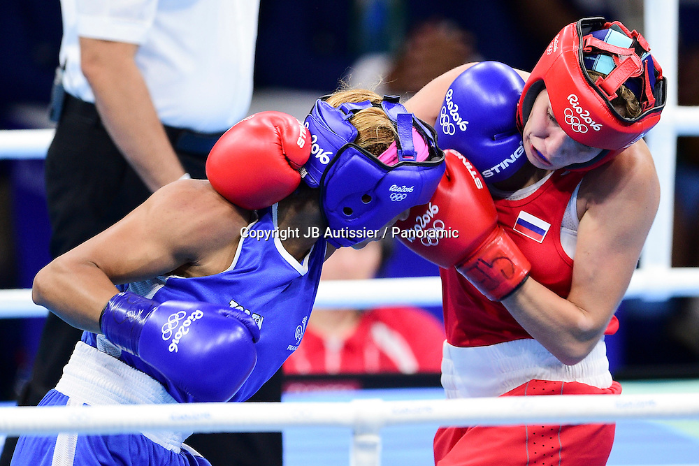 MOSSELY Estelle (Fra - bleu) vs BELIAKOVA Anastasiia (rus - rouge) - demie finale poids leger - 57-60kg - femmes