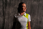 Sarah Bradley during portrait session prior to the second stage of LPGA Qualifying School at the Plantation Golf and Country Club on Oct. 6, 2013 in Vience, Florida. <br /> <br /> <br /> ©2013 Scott A. Miller