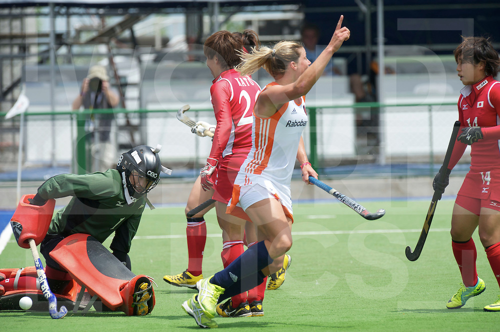ROSARIO - Champions Trophy women.Netherlands v Japan.foto: Kim Lammers 1-0.FFU Press Agency  COPYRIGHT FRANK UIJLENBROEK..