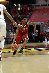 14 February 2016:  Antoine Pittman during the Illinois State Redbirds v Bradley Braves at Redbird Arena in Normal Illinois (Photo by Alan Look)