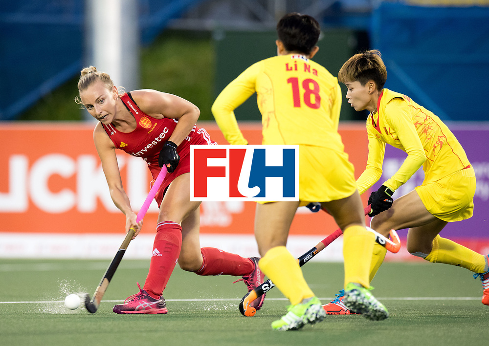 AUCKLAND - Sentinel Hockey World League final women<br /> Match id 10302<br /> ENG v China<br /> Foto:  Hannah Martin <br /> WORLDSPORTPICS COPYRIGHT FRANK UIJLENBROEK